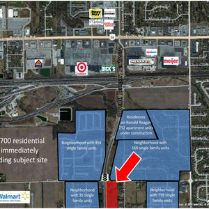 10ac Parcel on Ronald Reagan Pkwy - Avon, IN